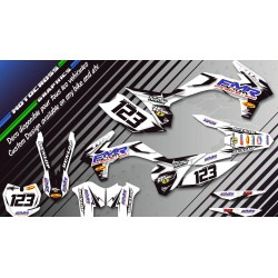 """Fmr factory WT Edition CA13WT"" Graphic kit KAWASAKI KFX 450 