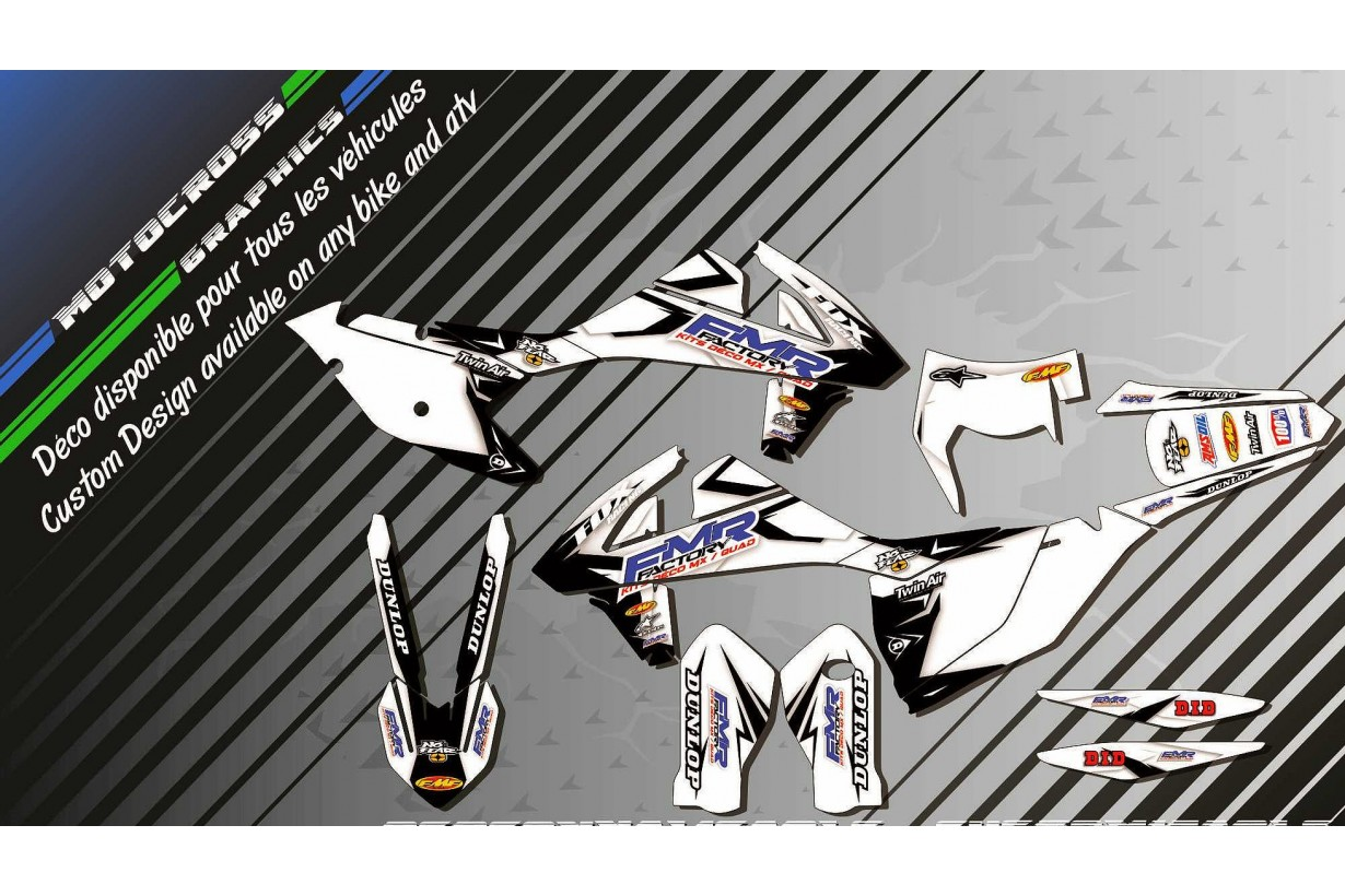 """Fmr factory WT Edition CA13WT"" Graphic kit KTM EXC Series 97-17 