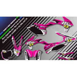 """NO FEAR CA5G"" Graphic kit YAMAHA YZ 125/250 RESTYLED 