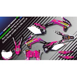 """BOXER CA1F"" Graphic kit HONDA CRF 150R 