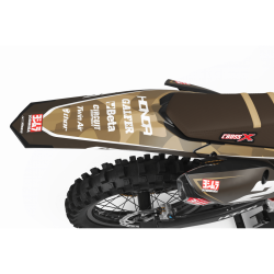 HONDA Graphics Kit BROWN MAT FINISH TOUCH