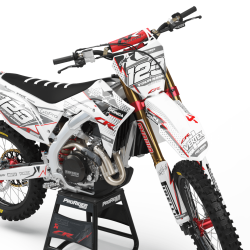 HONDA Graphics Kit VERTEX WHITE