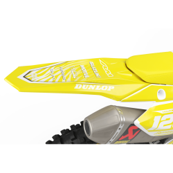 SUZUKI Graphics kit MOTUL yellow and white