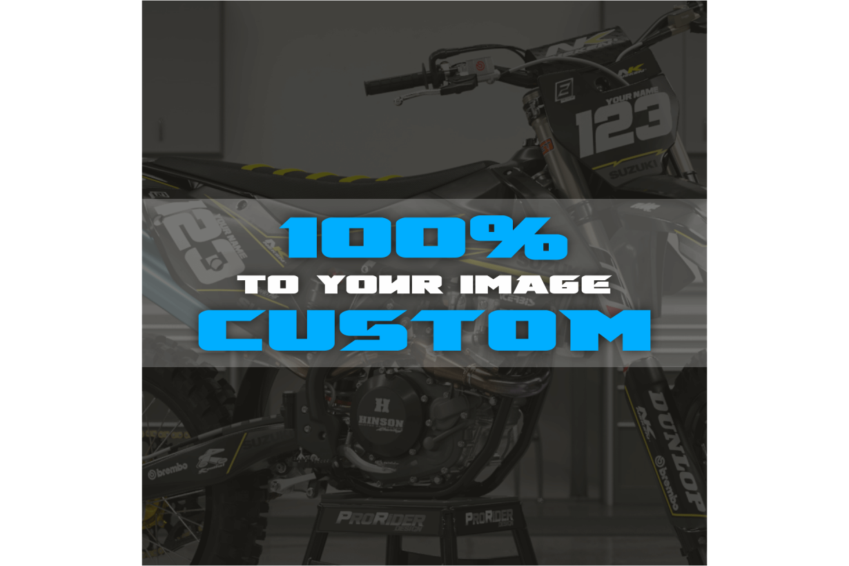 100% CUSTOM MOTOCROSS GRAPHICS