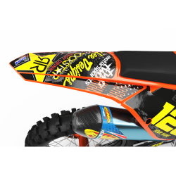 Graphics Kit ROCKSTAR ENERGY ORANGE : Give a new youth to your bike