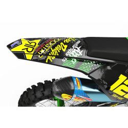 Graphics Kit ROCKSTAR ENERGY GREEN : Give a new youth to your bike