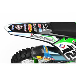Graphics Kit BOXER GREEN : Add value to your Motocross
