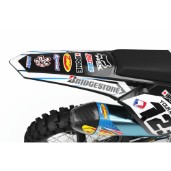 Graphics Kit BOXER BLACK : Add value to your Motocross and Quad