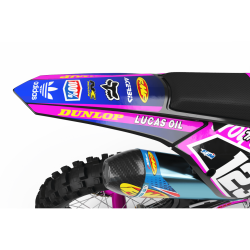 Graphics Kit LUCAS OIL PINK : The best kit for your bike
