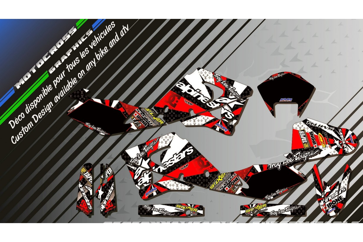 """ALPINESTARS CA4C"" Graphic kit HUSQVARNA SM/SMS 125 