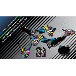 """ALPINESTARS CA4A"" Graphic kit KAWASAKI KX 65 