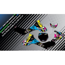 """ALPINESTARS CA4A"" Graphic kit SUZUKI JR 80 