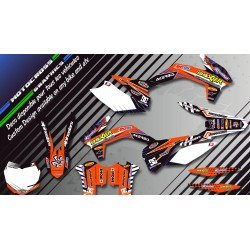 "Custom dirt bike Graphics kit ""BOXER CA1C"" 