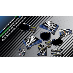 """ALPINESTARS CA4D"" Graphic kit YAMAHA 125 & 250 YZ 93-17 