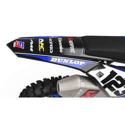 Custom dirt bike Graphics kit suzuki FACTORY ENERGY CA33D2 blue/yellow | custom-graphics-mx