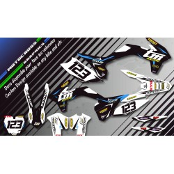 """Factory Black Edition CA10KB"" Graphic kit TM EN (2 Stroke) 
