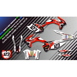 """Factory Replica HONDA CA10A"" Graphic kit HONDA CRF 150R 