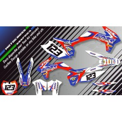 """Fmr Factory CA13A"" Graphic kit HUSQVARNA TC 449 