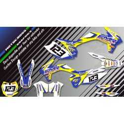 """Fmr Factory CA13D"" Graphic kit SUZUKI JR 80 